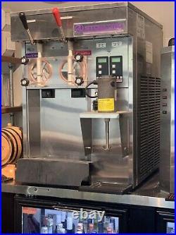 Stoeling Two Flavor Soft Serve Ice Cream Machine W Blender