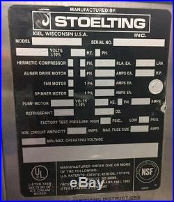 Stoelting 2131-38B Commercial Soft Serve Ice Cream Machine
