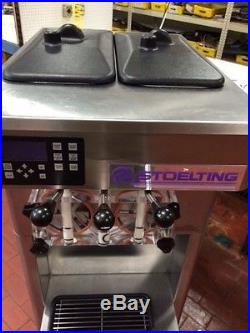 Stoelting F231 REFURBISHED CALL 4 SHIPPING 2 Flavor withTwist Ice Cream Maker
