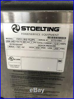Stoelting F231 Soft Serve Frozen Yogurt Twin Twist Ice Cream Machine Used