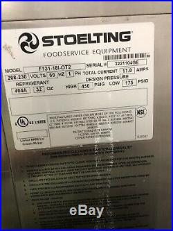 Stoelting F 131, Single Phase, Air Cooled