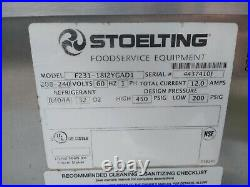Stoelting Soft Serve Frozen Yogurt Machine / Water Cooled / 2 Head with a Twist
