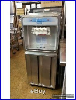 TAYLOR 168-27 Soft Serve Freezer Air Cooled, 220 Volts 60 Hz Single ph Used