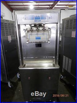Taylor 794-33 2 Flavor Soft Serve Ice Cream Machine2011