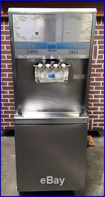 Taylor 8756-33 Air Cooled Two Flavor And Twist Soft Serve Ice Cream Machine