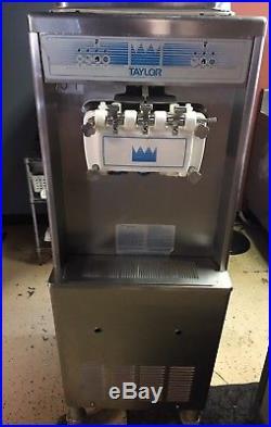 Taylor 0336 Soft Serve Twin Twist Ice Cream Machine 208V Single Phase Air Cooled