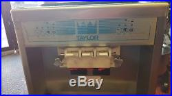 Taylor 161-27 Twist Countertop Ice Cream Machine Air Cooled 208 Volts 60Hz 1Ph