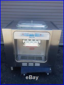 Taylor 162 Soft Serve Ice Cream Frozen Yogurt Machine Warranty 1Ph Air