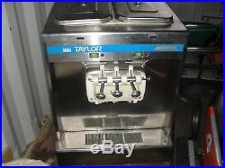 Taylor 337 Soft Serve Ice Cream Frozen Yogurt Machine 3Ph Air Cooled