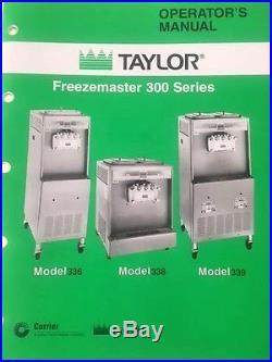 Taylor 338 Soft Ice Cream&Frozen Yogurt Machine, LOCAL PICKUP ONLY