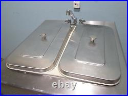 Taylor 339-33 Commercial H. D. Water Cooled 2 Flavors + Twist Ice Cream Machine