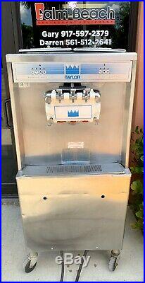 Taylor 754-33 Air Cooled Commercial Soft Serve Ice Cream Machine
