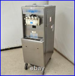 Taylor 794-27 Soft-Serve Ice Cream Machine 2-Hopper 404A Water-Cooled Twin AC