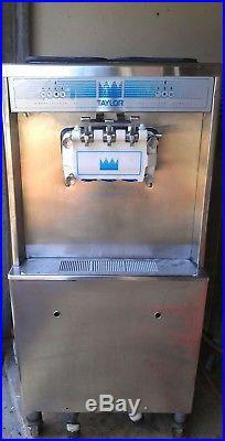 Taylor 794-27 Soft Serve Twin Twist Ice Cream Machine Water Cooled Single Phase