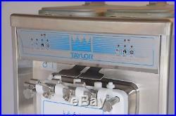 Taylor 794-33 Twin Flavor Soft Serve Ice Cream Frozen Yogurt Machine Water Cool