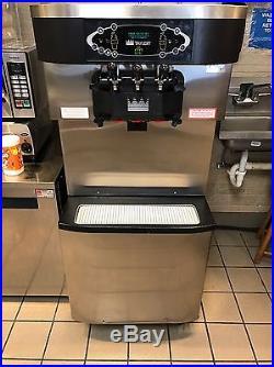Taylor C713-27 Air Cooled 1 Phase Ice Cream Machine 3 Head