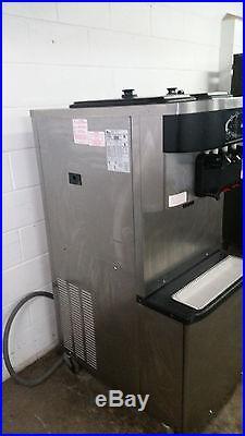 Taylor C713-27 Soft Serve Ice Cream Machine 2 Flavor Twist 2008 Tested