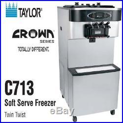 Taylor C713-33 Soft Serve Ice Cream Frozen Yogurt Machine Air Cooled