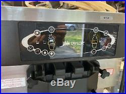 Taylor C713-33 Twin Twist Soft Serve Frozen Yogurt Ice Cream Machine