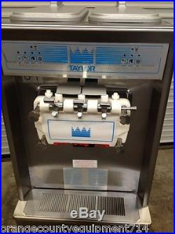 Taylor Soft Serve Ice Cream Frozen Yogurt Machine 794-33 #4504 Flavor Twist NSF