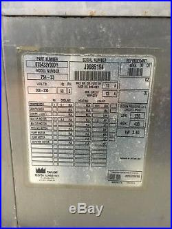 Taylor Soft Serve Ice Cream Machine Two Phase 05' 220/Watercooled FL 754-33