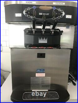 Taylor Soft Serve Ice Cream Machine With Twist Pump