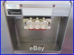 Taylor Y162-27 2 Flavor Twin Twist Soft Serve Ice Cream Machine Air Cooled 1 Ph