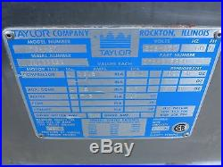 Taylor Y754-27 754-27 Ice Cream Machine Air Cooled 220V Single Phase VIDEO