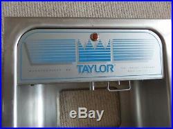 Taylor ice cream machine parts
