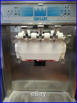 Taylor ice cream machine used