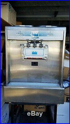 Taylor soft serve ice cream/yogurt machine model 338 air cooled 3 phase with stand