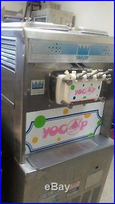 Taylor three Flavor Soft Serve Ice Cream Frozen Yogurt Machine 1 phase