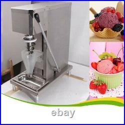 Techtongda 110V Fruit Ice Cream Mixing Machine Yogurt Blender With Free Cone Cup