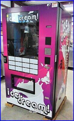 The Evolution INFEVO-FS01 Ice Cream Machine, Vending Machine
