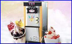 Used Ice Cream Machine 220v Gelato Machine Frozen Yogurt Maker Ice Cream