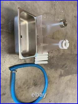 Used Milk Shake Machine Maker Ice Cream Mixer Smoothie Frappe Drink Blender Mix