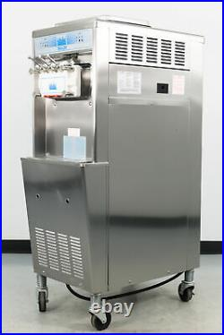 Used Taylor 336-33 3 Head Soft Serve Ice Cream Machine Water Cooled