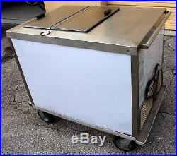 Used White Ice cream BDC 8 push cart