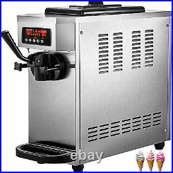 VEVOR Commercial Ice Cream Maker Single Flavor 4.7-5.3Gal/H Soft-Serve Ice Cream