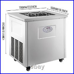 VEVOR Commercial Popsicle Machine Commercial Ice Popsicle Machine 40pcs Mold Set