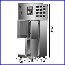 VEVOR Electric Blizzard Ice Cream Machine Shaker Blender Mixer Commercial 800W