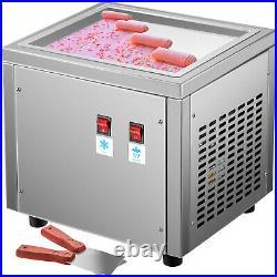 VEVOR Fried Ice Cream Roll Machine Commercial Ice Roll Maker for Yogurt Milk