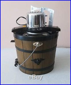 Vintage Sears Electric Old Fashion Ice Cream Maker Frozen Desserts Machine