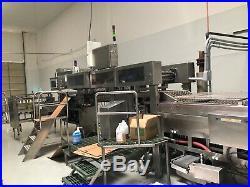Vitaline 8 Wide Automatic 10,000 Bars per Hour Ice Cream Bar Machine