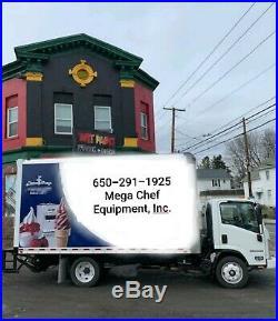 WITH BONUS ELECTRO FREEZE FT1 ICE CREAM GELATO Machine 20 quarts BATCH FREEZER