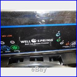 Well Springs Yogurt/soft Serve Ice Cream Machine Ssi-143s