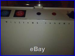 Williams Sonoma Professional Gelato Ice Cream Maker Sorbet Machine WS 994 Italy