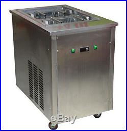 With one 40pcs/set mold ice popsicle machine, ice lolly making machine, /110V