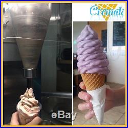 Yougurt blender swirl freeze fruit ice cream blending machine shipping by DHL