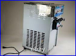 ZM-168 Commercial 3 Flavor Soft Ice Cream Machine Frozen Ice Cream Cones (PARTS)